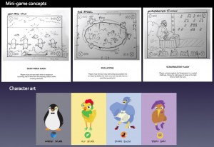 Concepts & Character Art